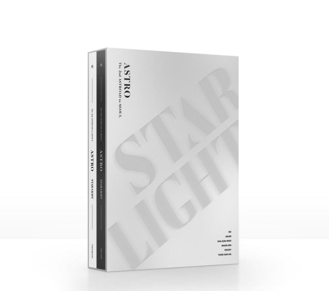 ASTRO - The 2nd ASTROAD to Seoul STAR LIGHT DVD-DVD-Corea Box-Corea Box