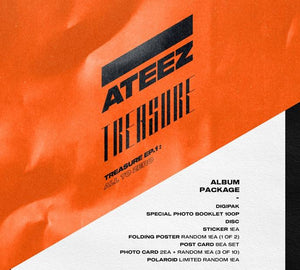 ATEEZ - TREASURE EP.1 : ALL TO ZERO-Albums-Corea Box-Corea Box
