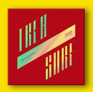 ATEEZ - TREASURE EP.3 : ONE TO ALL [Illusion Ver. / Wave Ver.]-Albums-Corea Box-Illusion Ver.-Corea Box