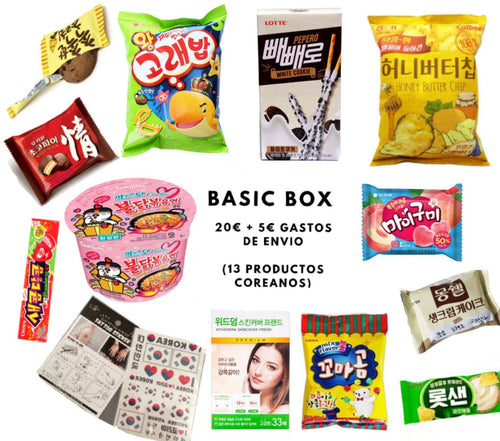 Basic BOX-Snacks-Corea Box-Corea Box
