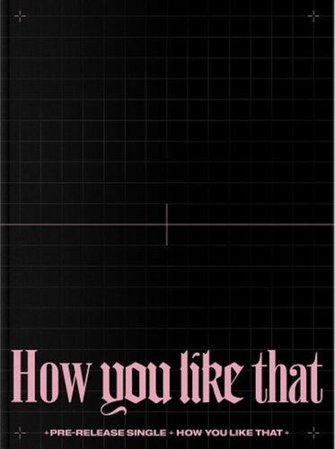 Blackpink - How You Like That (Special Edition)-Albums-Corea Box-Sin Poster-Corea Box