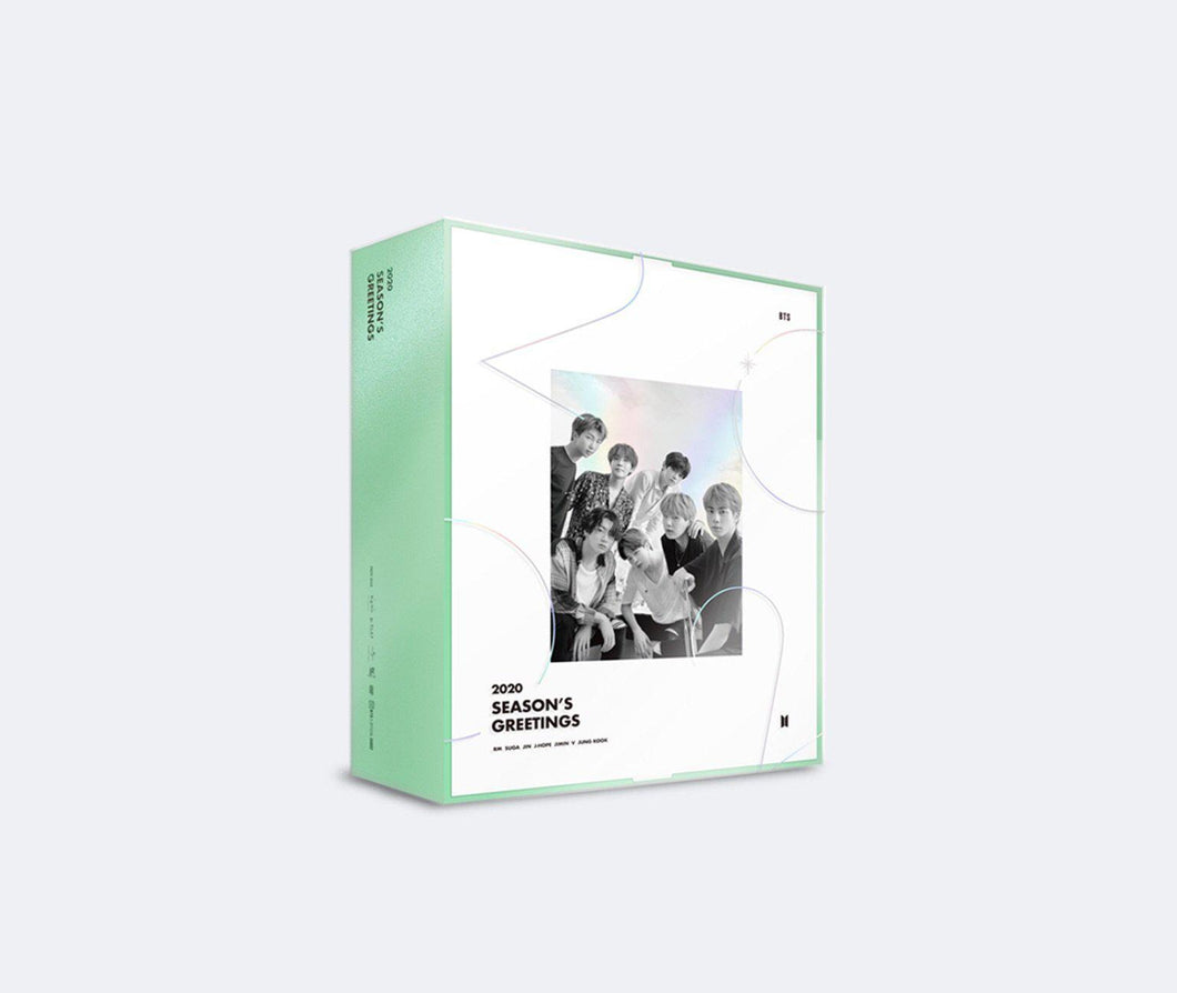 BTS 2020 SEASON'S GREETINGS-DVD-Corea Box-Corea Box
