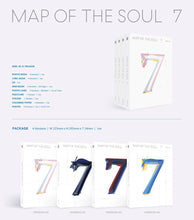 Load image into Gallery viewer, BTS Map of Soul: 7 (MOTS 7)-Albums-Corea Box-Versión Random (1 album)-Corea Box