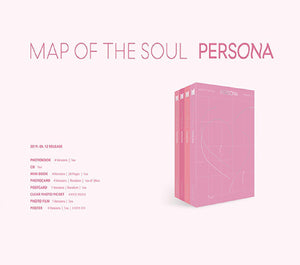 BTS Map of Soul: Persona-Albums-Corea Box-Corea Box