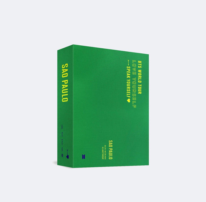 BTS WORLD TOUR 'Love Yourself : Speak Yourself' SAO PAULO (DVD)-DVD-Corea Box-Corea Box