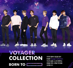 Camisetas Logo BTS x FILA VOYAGER COLLECTION-Merch-Corea Box-Corea Box