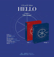 Load image into Gallery viewer, CIX - HELLO Chapter 1. HELLO, STRANGER [Hello Ver./ Stranger Ver.]-Albums-Corea Box-Hello Ver.-Sin Poster-Corea Box
