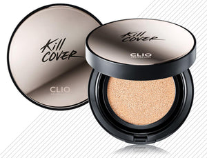 CLIO Kill Cover Founwear Cushion XP SPF50+ (+1 REFILL)-Cosmética-Corea Box-Corea Box