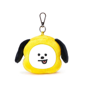 Colgantes llavero BT21 Oficiales-Merch-Corea Box-Cabeza-Chimmy-Corea Box