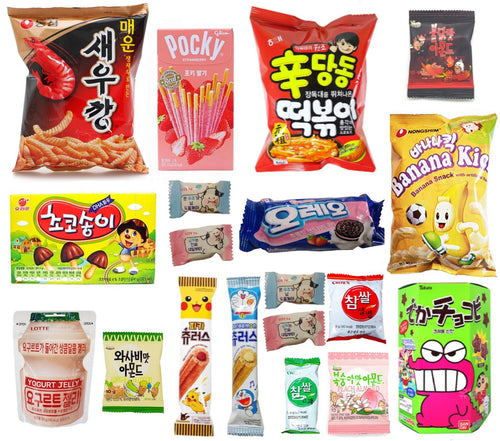 EXOTIC BOX-Snacks-Corea Box-Corea Box