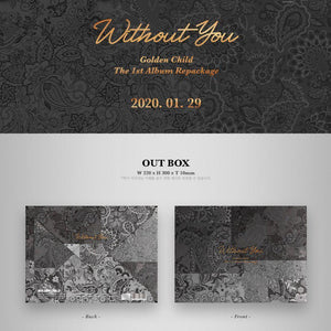 GOLDEN CHILD - Without You (1st Album REPACKAGE)-Albums-Corea Box-Corea Box