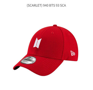 Gorras de BTS SPEAK YOURSELF TOUR-Ropa-Corea Box-Gorra Béisbol (Roja)-Corea Box