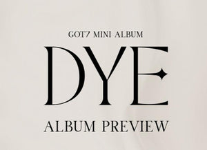 "GOT7 Mini Album ""DYE"" (RANDOM)-Albums-Corea Box-Corea Box"