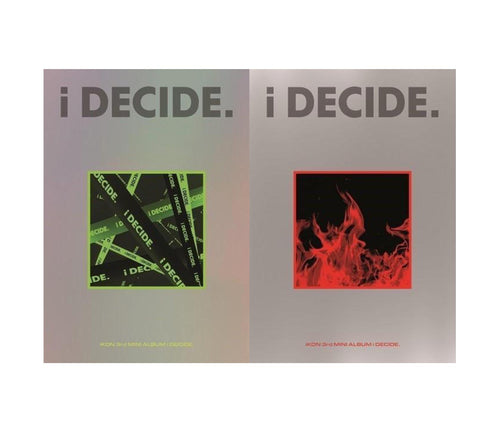 IKON - i DECIDE [Green Ver. / Red Ver. ]-Albums-Corea Box-Red + Green-Corea Box