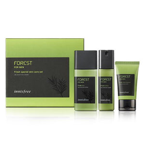 Innisfree - Forest For Men Fresh Special Skin Care Set-Cosmética-Corea Box-Corea Box