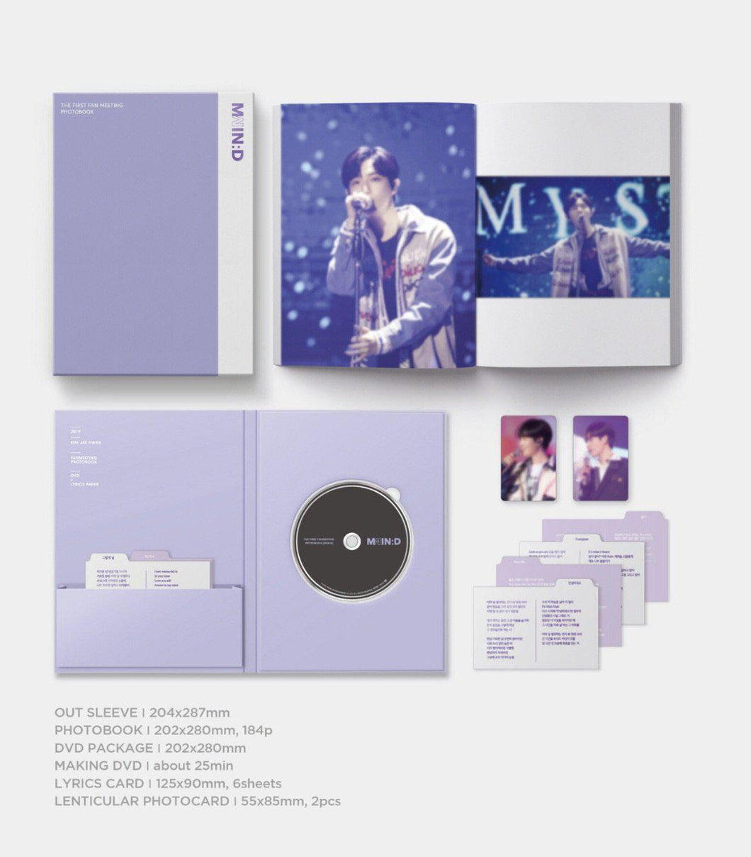 Kim Jae Hwan - The First Fan Meeting Photobook-Albums-Corea Box-Corea Box