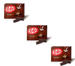 Kit Kat Set de Sabores Exóticos-Snacks-Corea Box-Set Chocolate Negro (3 cajas)-Corea Box
