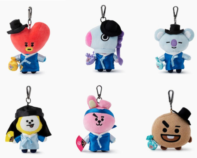 Llaveros BT21 Hanbok Edition-BT21-Corea Box-Corea Box