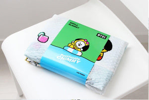 Mantita BT21 Oficial (Tata/Chimmy/Cooky/Shooky)-Merch-Corea Box-Chimmy-Corea Box