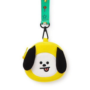 Monederos BT21 Oficiales-Merch-Corea Box-Chimmy-Corea Box