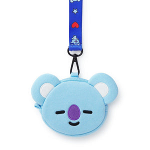 Monederos BT21 Oficiales-Merch-Corea Box-Koya-Corea Box