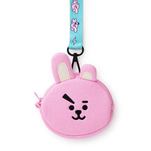 Monederos BT21 Oficiales-Merch-Corea Box-Cooky-Corea Box