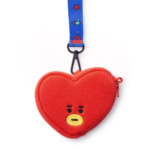 Monederos BT21 Oficiales-Merch-Corea Box-Tata-Corea Box