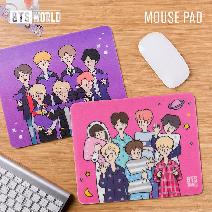 Mouse Pads BTS World Oficiales-Merch-Corea Box-Corea Box