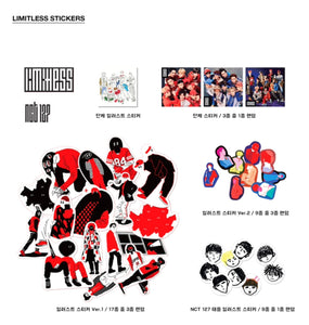 NCT 127 2nd album LIMITLESS (random)-Albums-Corea Box-Corea Box