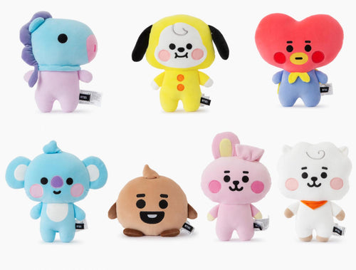 Peluches BT21 BEBÉ Cuerpo de Pie-BT21-Corea Box-Corea Box