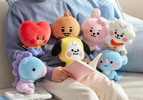 Peluches BT21 BEBÉ (Sentados) 20cm-BT21-Corea Box-Corea Box