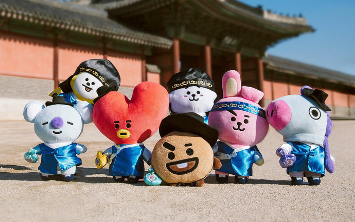 Peluches BT21 Hanbok Edition-BT21-Corea Box-Corea Box