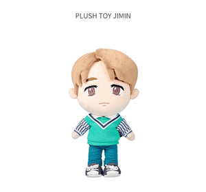 PELUCHES OFICIALES de la POP-UP de BTS-Merch-Corea Box-Jimin-Corea Box