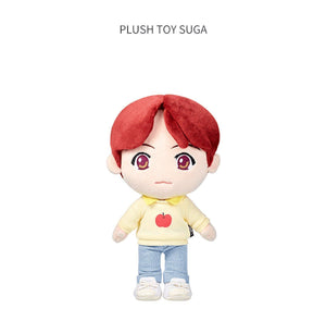 PELUCHES OFICIALES de la POP-UP de BTS-Merch-Corea Box-Suga-Corea Box