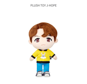 PELUCHES OFICIALES de la POP-UP de BTS-Merch-Corea Box-J-Hope-Corea Box