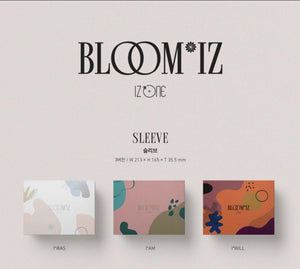 [PRE-ORDER] IZ*ONE - BLOOM*IZ / 1ST ALBUM (random)-Albums-Corea Box-Corea Box