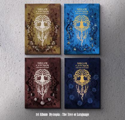(Preorder) Dream Catcher 1st Album - Dystopia: The Tree of Language [Ver. E/V/I/L]-Albums-Corea Box-E+V+I+L Version-Corea Box