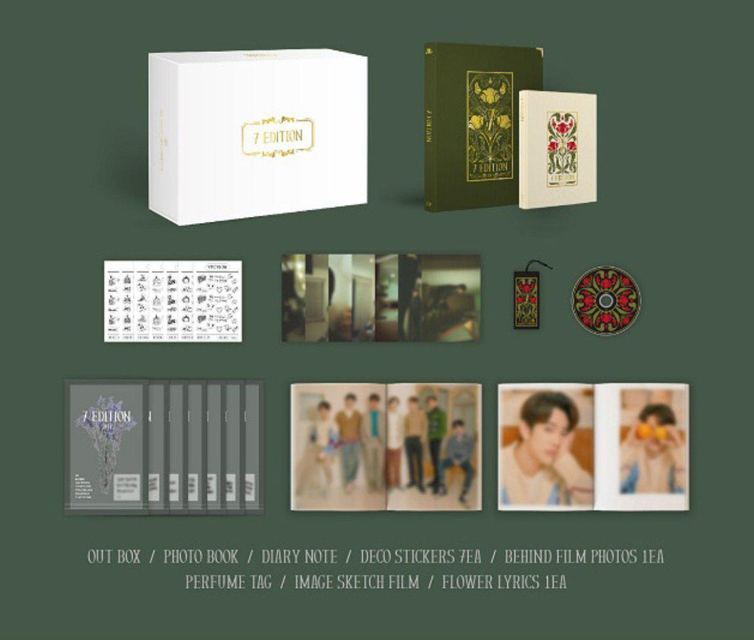 (Preorder) GOT7 Photobook - 7EDITION-Albums-Corea Box-Corea Box
