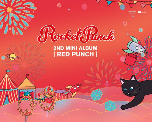 Rocket Punch - (2nd Album) Red Punch-Albums-Corea Box-Corea Box