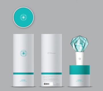 Shinee Light Stick Oficial-Merch-Corea Box-Corea Box
