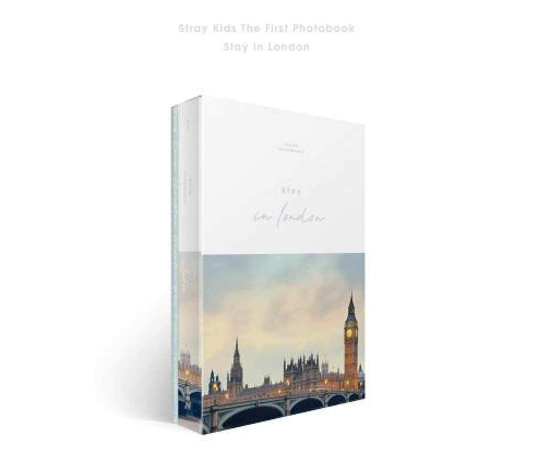 Stray Kids First Photobook [Stay in London]-DVD-Corea Box-Corea Box