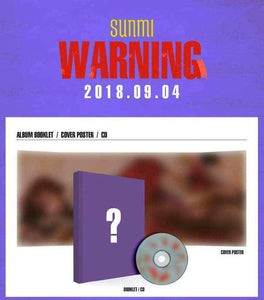 SUNMI Warning-Albums-Corea Box-Corea Box