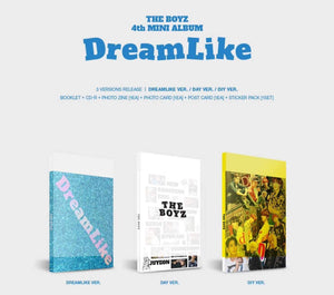 THE BOYZ - DREAMLIKE-Albums-Corea Box-Todas las versiones-Corea Box