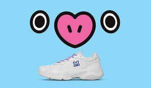 Zapatillas BT21 Reebok Oficiales TURBO IMPULSE CLEAN 2020-Ropa-Corea Box-Mang-34 / 225mm / 3.5-Corea Box