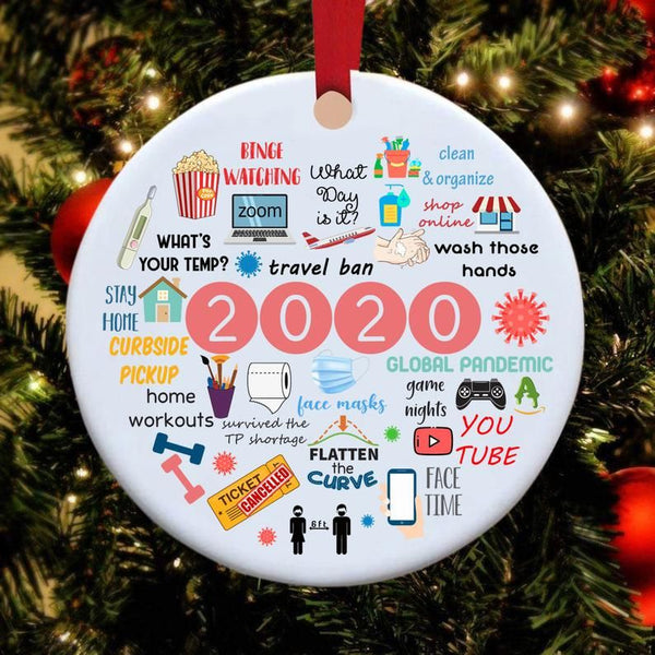 2020 Annual Events Christmas Ornament [FREE SHIPPING]⭐️⭐️⭐️⭐️⭐️