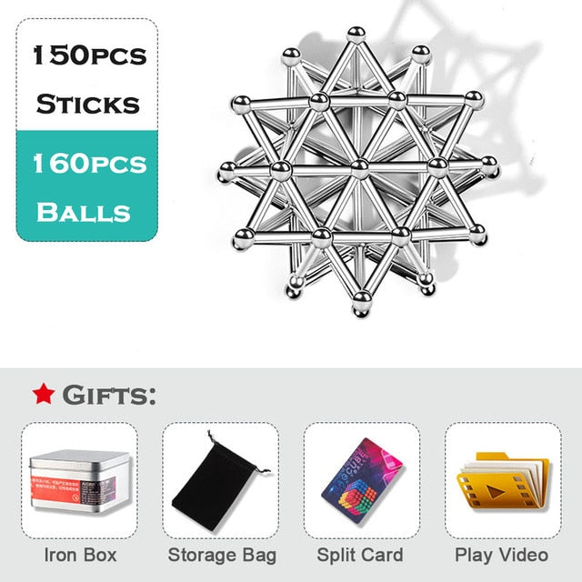 Magnetic Sticks  And Balls