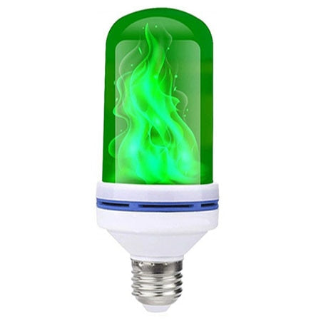 LED Flame Effect Light Bulb- With Gravity Sensing Effect