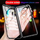 Samsung Double-Sided Protection Anti-Peep Tempered Glass Phone Case