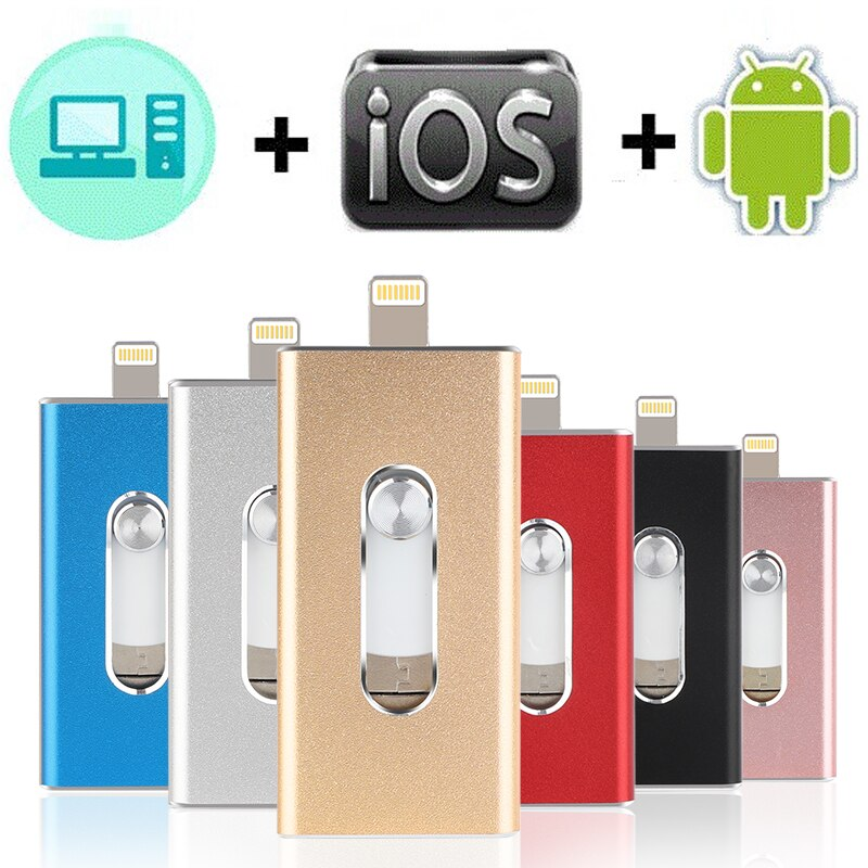 IFLASH - FLASH DRIVE FOR IPHONE, IPAD & ANDROID
