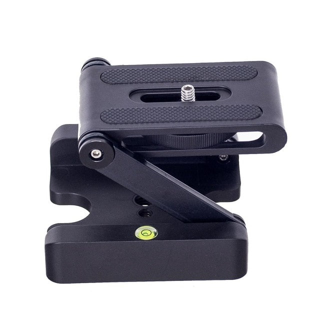 Z Flex Folding Tilt Foldable Desktop Holder Universal Tool for SLR Canon Nikon Sony Quick Release Plate Stand Holder Camera